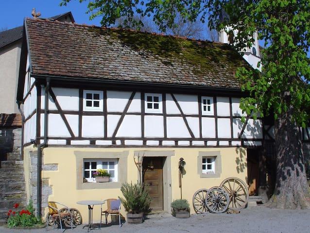 Traumhaftes Idyll im Kessachtal - Widdern - Haus