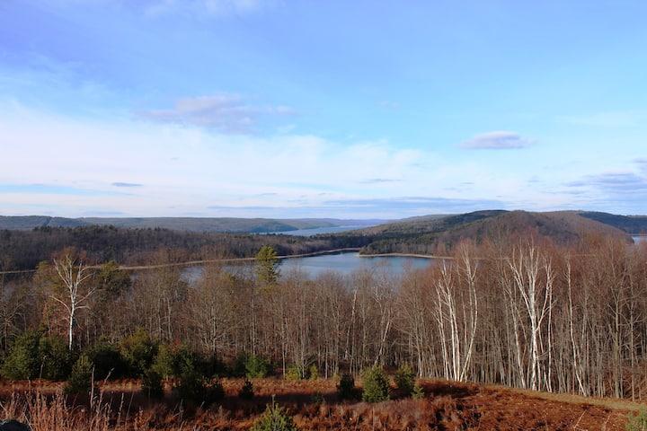 PIcnic view at Quabbin Reservoir