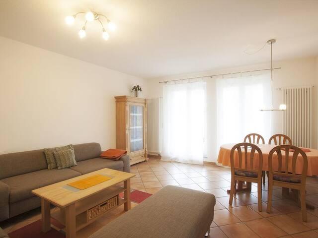 Wohnbereich, Haus Sonnenseite, Ferienwohnung Säntis