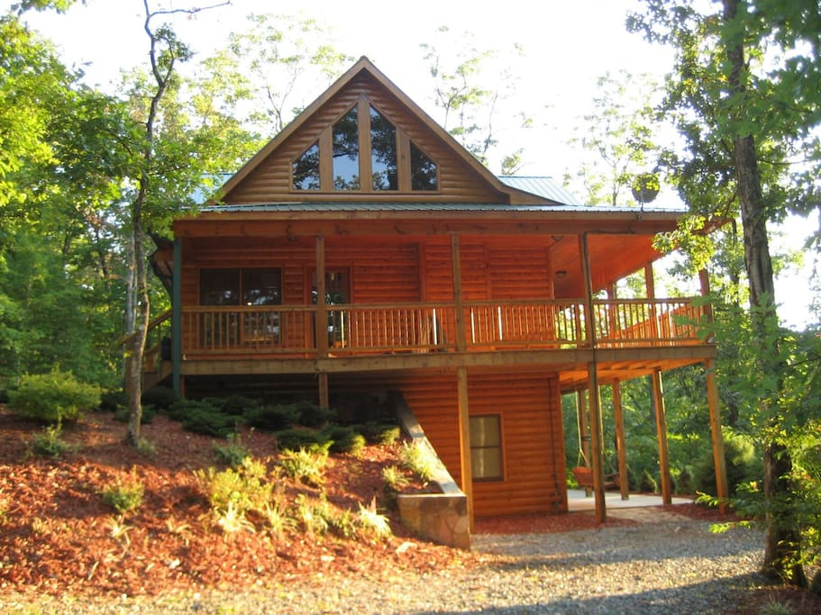 Mountain Breeze Cabins For Rent In Blue Ridge Georgia United States