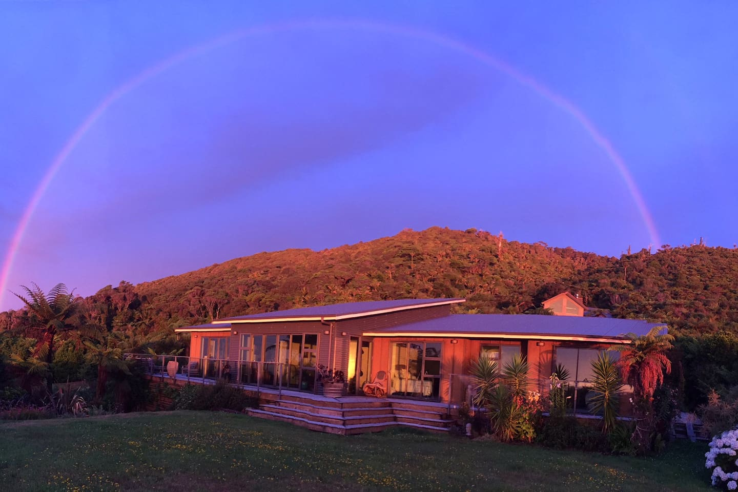 Gold under the rainbow :Our Home: