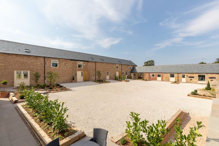 New barn conversion on a country estate