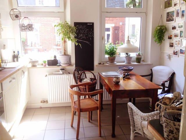 Ruhige und idyllische Unterkunft im Herzen Fürths - Fürth - Pis