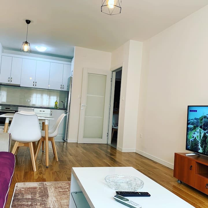 Lux Apartments in most popular place in Podgorica