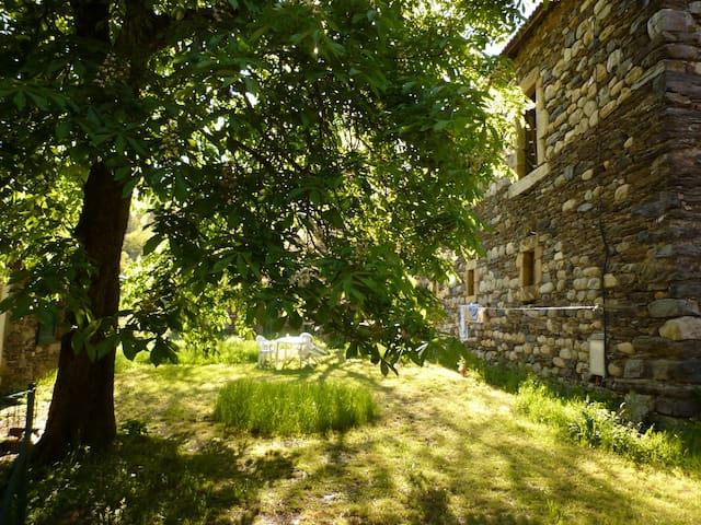Ferme de vacances en Lozère - Altier - Huis