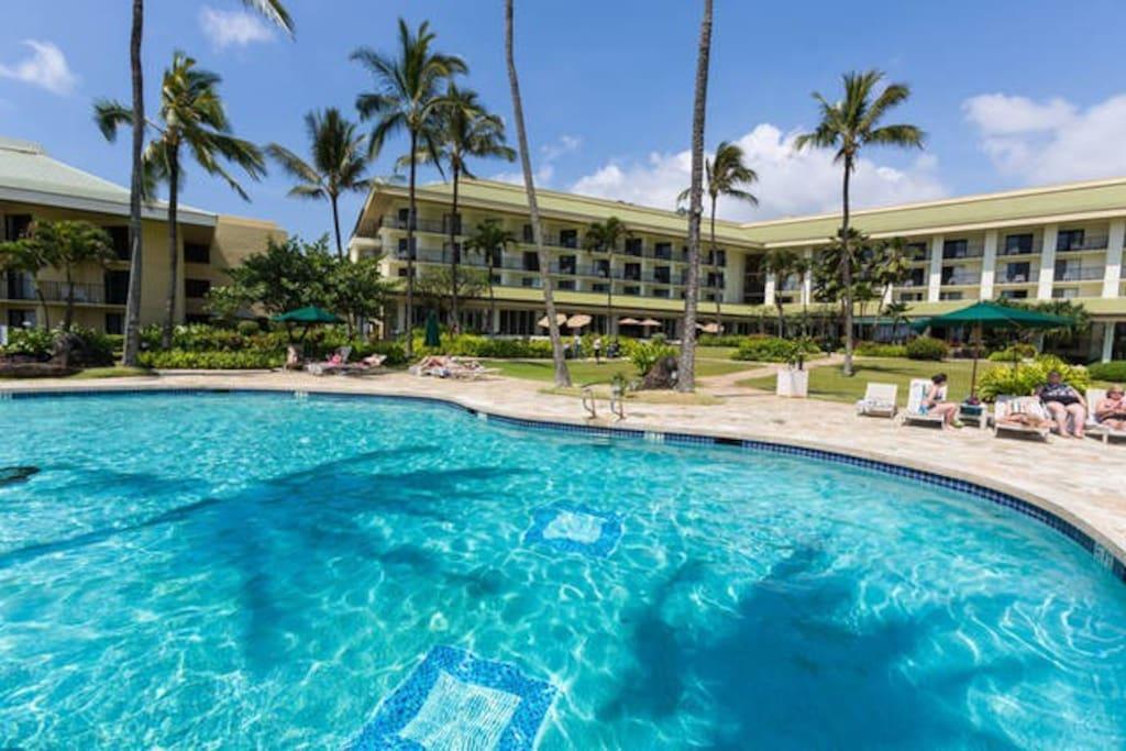Another pool in fantastic ocean front resort