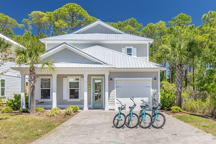 4th Night Free Now-12/31* Community POOL! 4 Bikes! Over 2700 SQ FT! Shore Thing at Frangista Beac