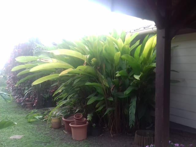 Studio privé dans villa avec piscine et jardin