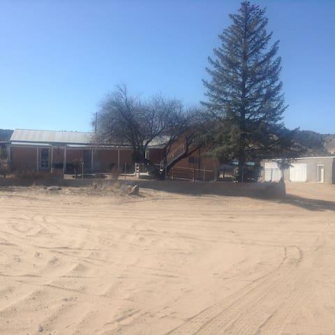 Garcia's farm house