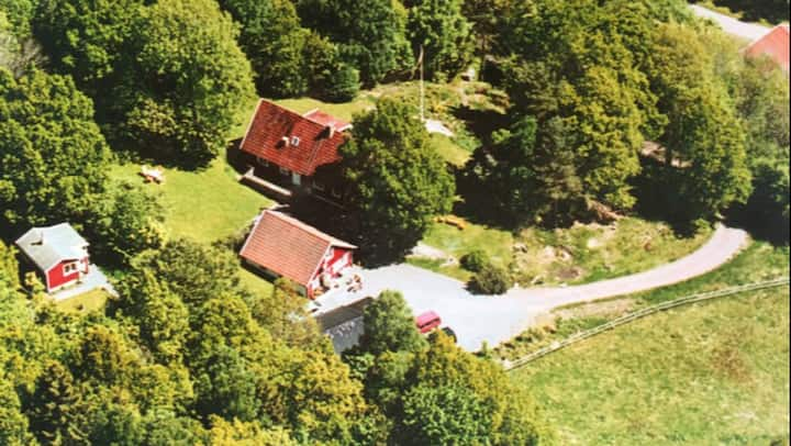 Smal house on the contryside