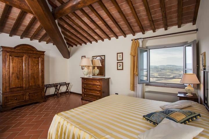 San Gimignano countryside apartment Fulignano 3