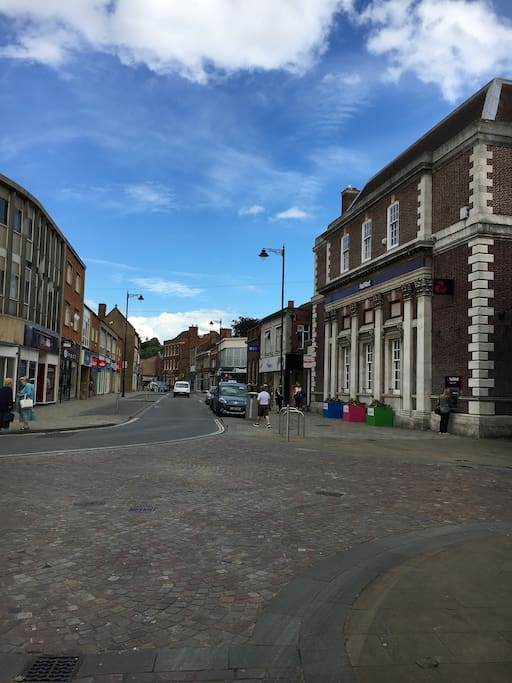 View of Market Street, Gainsborough