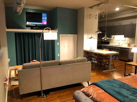 The Mother-in-Law Studio at Rose Rent Lofts