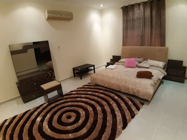 LUXURIOUS AND SPECIOUS FOUR  MASTER BEDROOM .