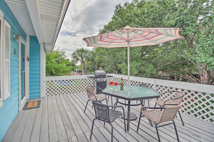 NEW-Tybee Island Home w/Game Rm, Pet-Friendly Yard