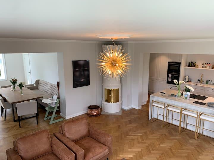 Spacious apartment 2 min from Vigelandsparken