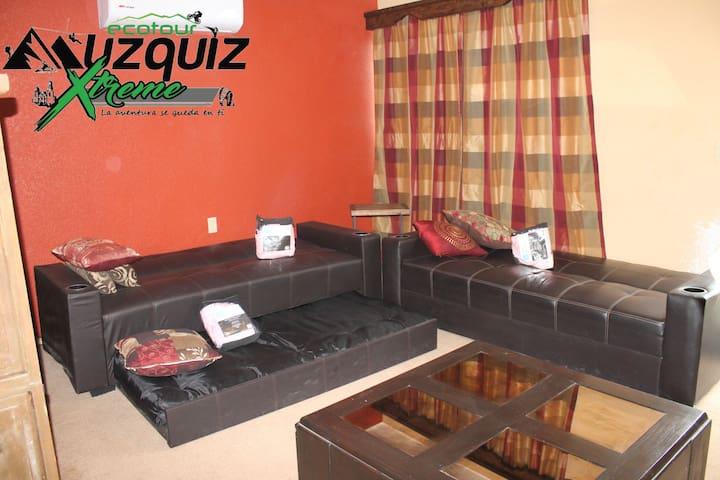Habitación #2 sofá cama