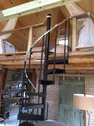 1st floor view of Loft!
