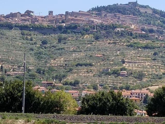 Hill-town village of Cortona