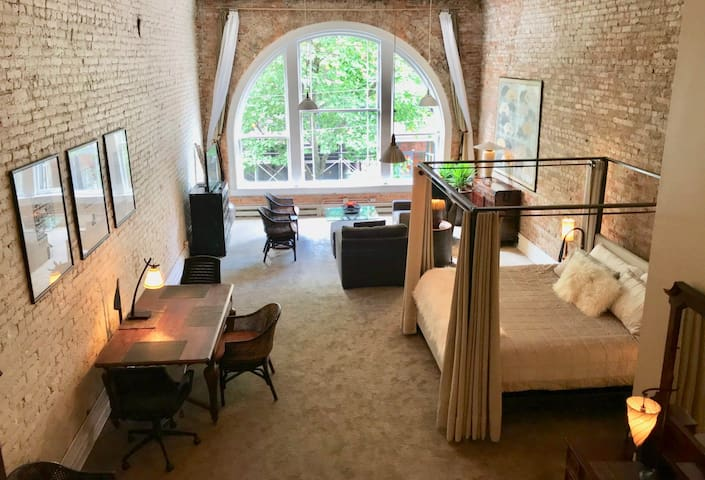 Historic beautiful Artist loft