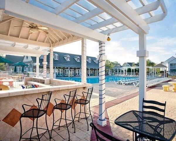 2 Br suite at Kingsgate Resort