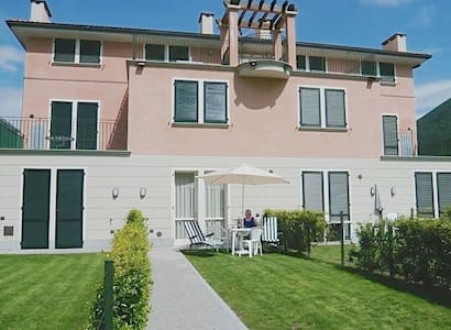 Apartment for 4 in park along the lake of Lugano - Porlezza