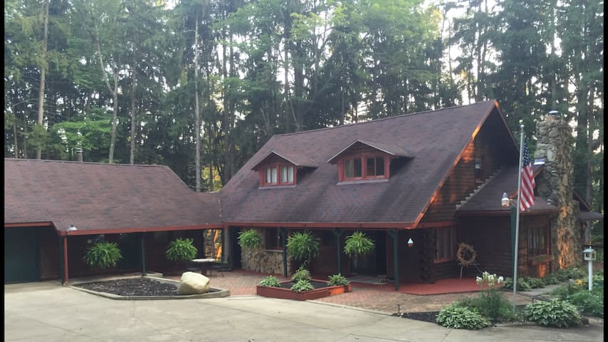 Cabin Retreat - NEOMED, Kent St, Single Travelers. - Mogadore