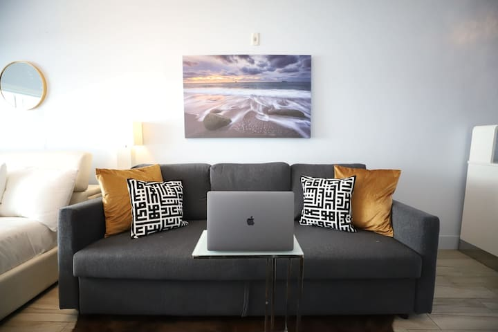 Space ready for remote working with reliable Wifi