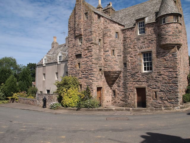 The West Wing of Fordyce Castle - Aberdeenshire - Castell