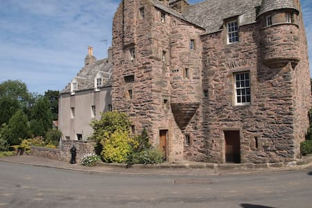 The West Wing of Fordyce Castle - Aberdeenshire