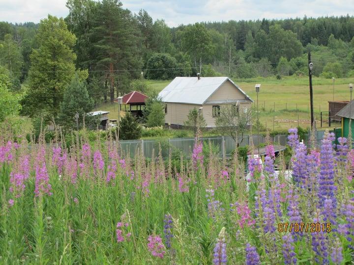 Уютный дом в Тверской области.