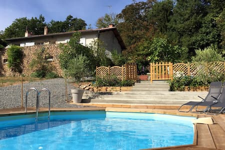 Familyhouse, relax, enjoy nature at the coutryside - Saint-Laurent-sur-Gorre - House