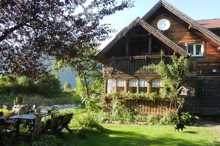 Naturverbundenheit mit schöner Aussicht - Ebensee - Lakás