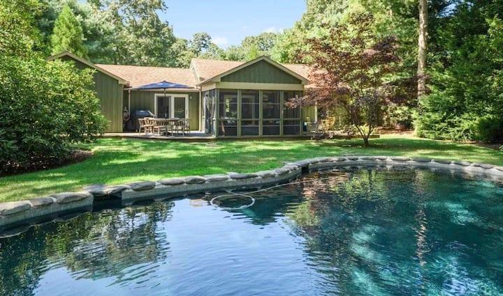 Oasis backyard, Pool, Gym, and Sunroom!
