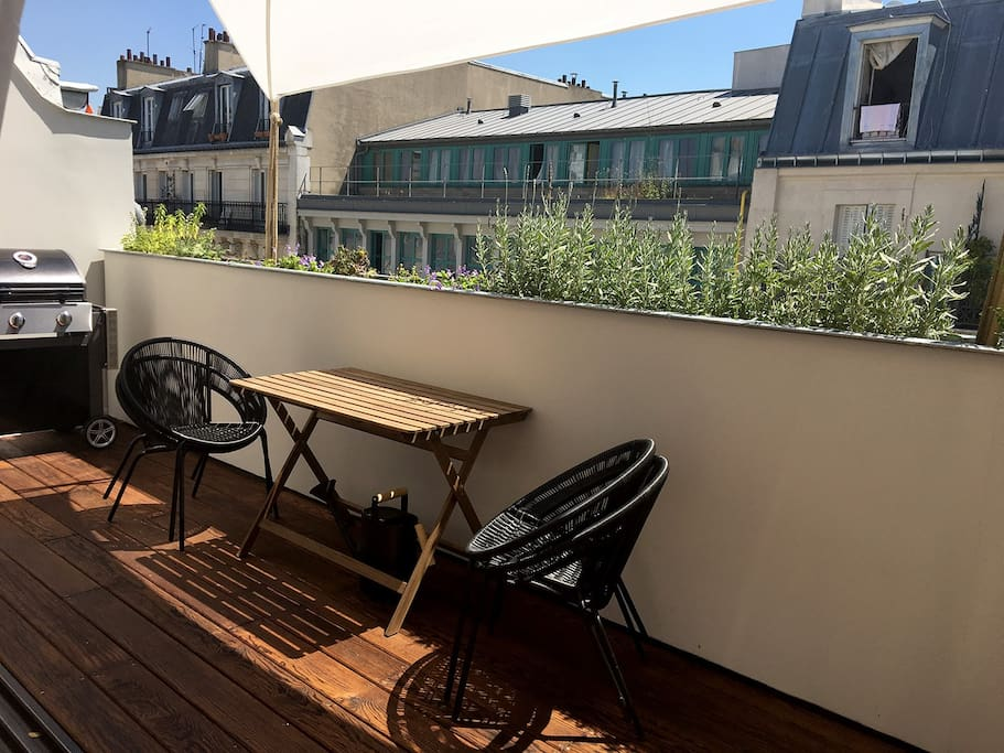 Terrasse with Barbecue