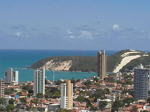 Apartamento com vista para o mar - Natal - Leilighet