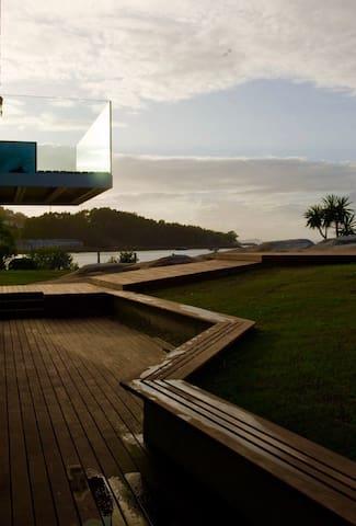 Casa con acceso directo a 2 playas - Ría de Aldán - O Igrexario - Wohnung