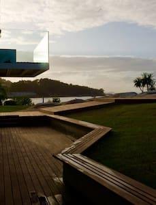 Casa con acceso directo a 2 playas - Ría de Aldán - O Igrexario - Apartmen