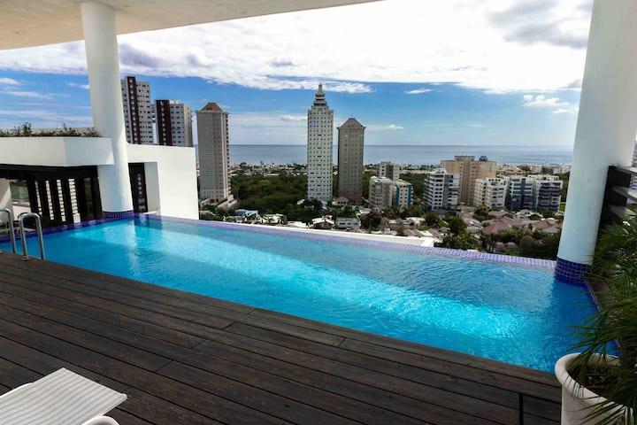 Luxurious 10th FloorW/OceanViews in Los Cacicazgos