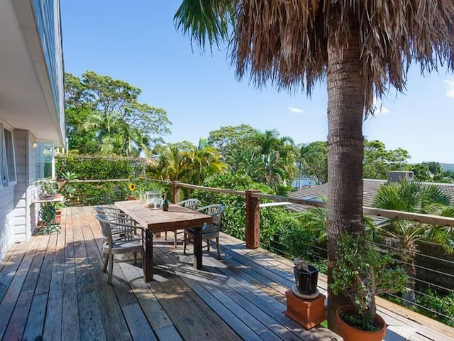 THE PALM TREE OASIS - in Bilgola NSW - Bilgola Plateau - Huis