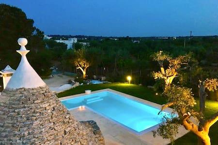 Trulli PugliaTales - Private Pool!