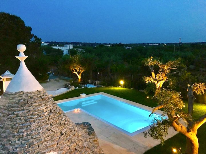 Trulli PugliaTales - Private Pool!