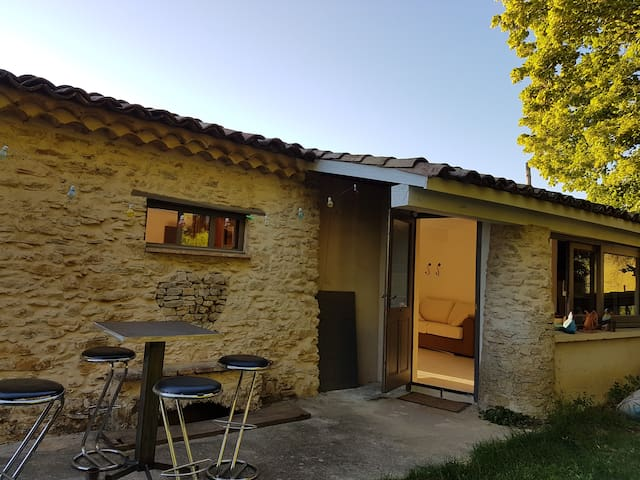 GITE RURAL A 10 MN DE VAISON LA ROMAINE - Faucon - Apartment