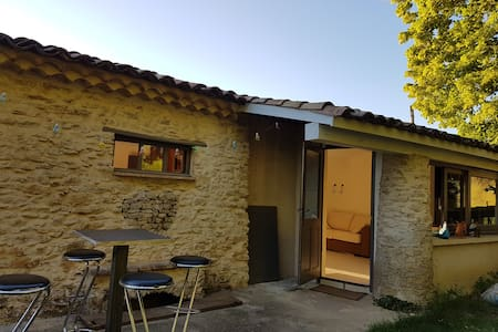 GITE RURAL A 10 MN DE VAISON LA ROMAINE - Faucon - Appartamento