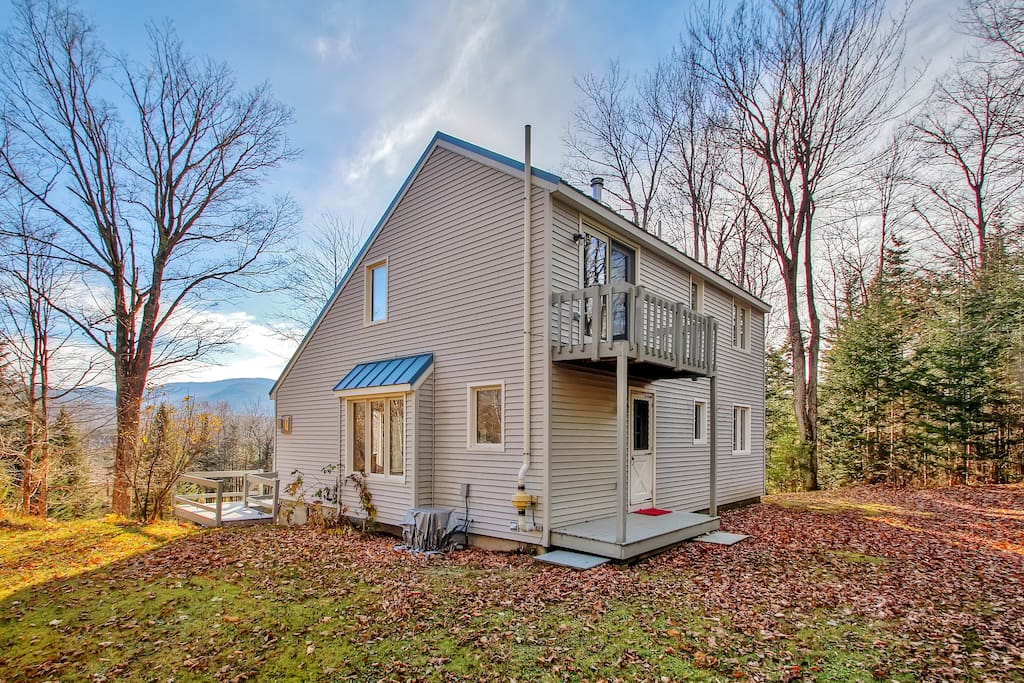 Let this light and bright Randolph vacation rental house serve as your home base for exploring New Hampshire's scenic White Mountains!
