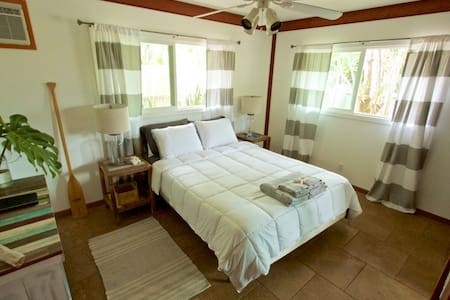Room in North Shore Beach House, steps to the sand - 와이아루아 - 단독주택