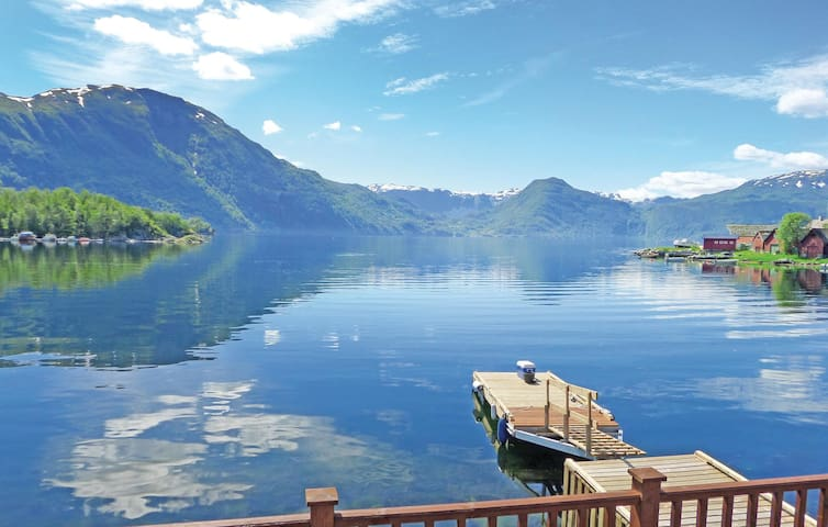 Holiday cottage with 2 bedrooms on 50m² in Åkra