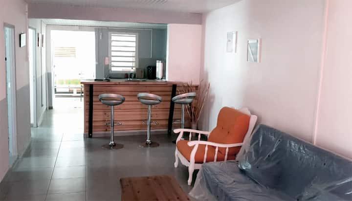 Agréable maison des îles à Marie-Galante