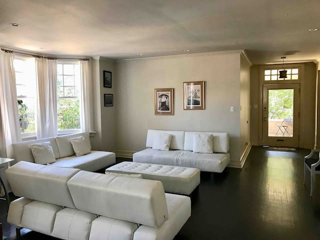 Large open-plan living area perfect for entertaining