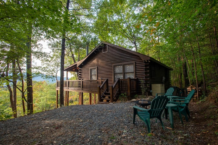Panoramic Sunset Views Cabin | Newly Renovated